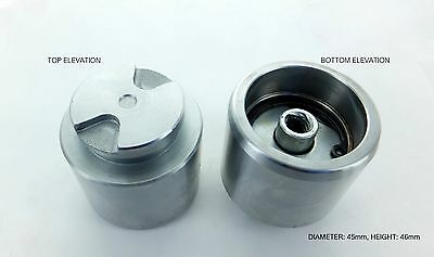 ONE REAR BRAKE CALIPER PISTON (with internals) for TOYOTA MR2 1999-2007 (P4528i)