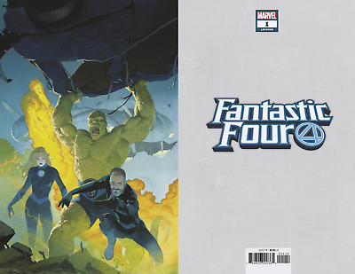 FANTASTIC FOUR #1 1:100 Virgin Variant Ribic Marvel Comics NM 8/8/2018
