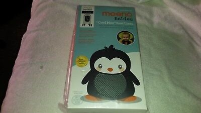 Meeno Babies  Cool Mee Stroller Seat Liner Age 1-4 Silver New ***FREE SHIPPING**