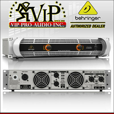 2X Behringer NU12000 iNUKE 12000W Class-D lightweight Power Amplifier Amp