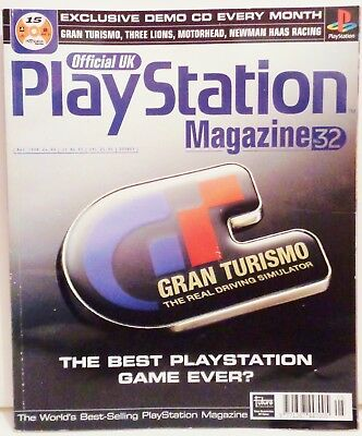 Official U.K Playstation Magazine Issue No. 32 May 1998 Play Station