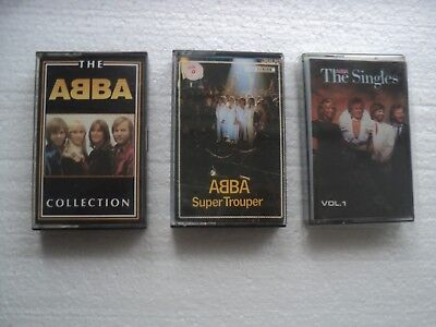 ABBA - The Asia Tapes collection - Set of 3 : Australia (4) , Malaysia & Taiwan