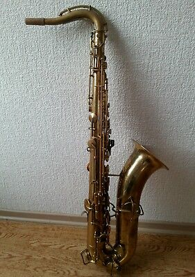 Tenorsaxophon KING  -  The  H. N. White King -   Vintage Klang