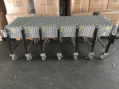 """Best Flex 200 conveyor B/F200-24-24, All Metal, 24"""" Wide, Expandable to 24ft"""