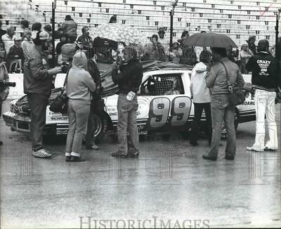 1982 Press Photo racer Dean Roper at Wisconsin Sate Faire Park Speedway