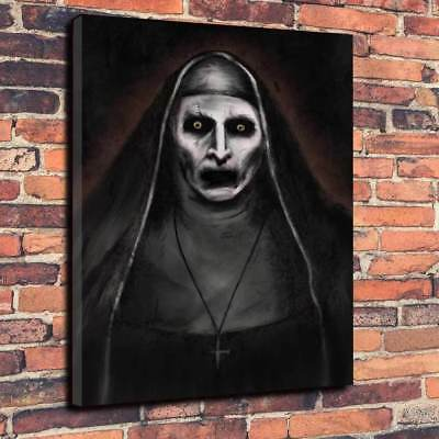 Modern Horror The Conjuring The Nun Valak Printed Canvas Picture Multiple Sizes