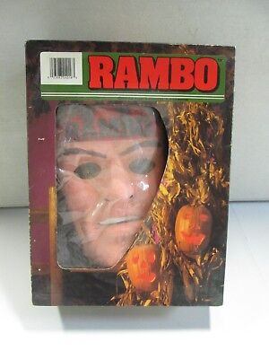 Collegeville Rambo Costume and Mask