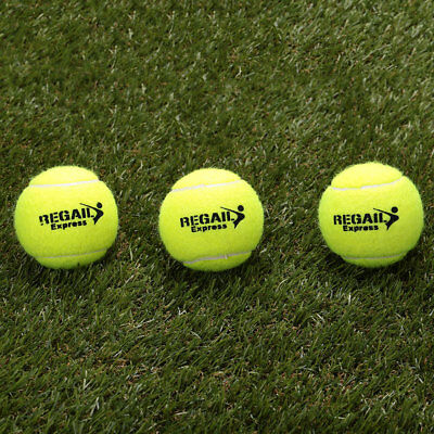 F6CF Outdoor Elasticity 1Pc Tennis Balls Woolen For Training Competition Adults