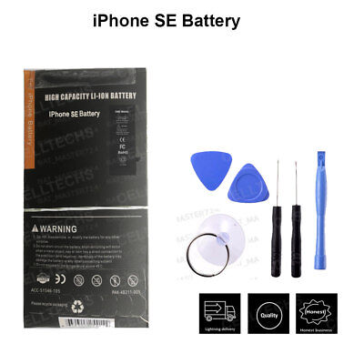 Genuine Gmz Replacement Apple iPhone SE Battery 1624mAh Full Capacity Tools kit