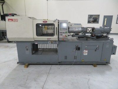Nissei Used NS40-5A Injection Molding Machine, 44 USton, Yr.1998, 1.17 oz. #8270