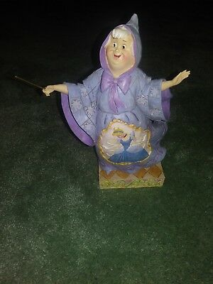 4007218 Jim Shore Tradition, Magical Transformation. Cinderella Fairy Godmother
