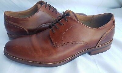 ALDO MENS OXFORD Red Wine Brown Leather Dress Shoe Size US 10.5 ... 35d9d53e4a3