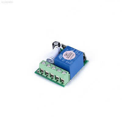 AD6C 315/433MHz One Channel Wireless Relay RF Remote Control Switch Receiver