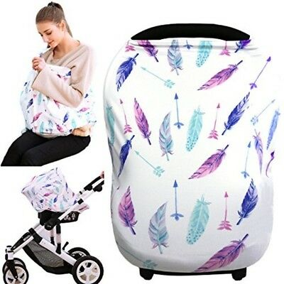 Cover Nursing Car Seat Baby Canopy Multi Use Infant Breastfeeding Stroller Mom