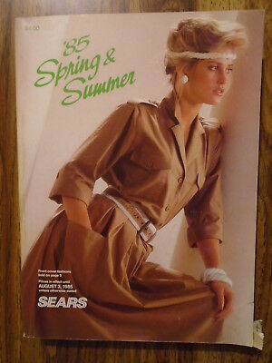 1985 Sears Canada, Spring And Summer, Catalogue...!!!