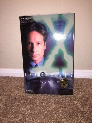 """Sideshow Collectibles Home Fox Mulder 12"""" Exclusive X Files Action Figure"""