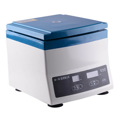 220V 80-2B Desktop Lab Centrifuge Machine 300-4000RPM Digital Display 12 X 20Ml