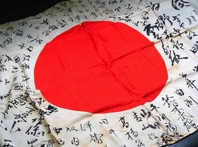 Antique Japanese Flag Japan army naval F597