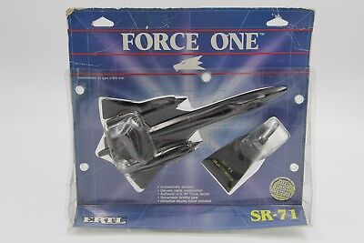 Lockheed SR-71 Blackbird Ertl Force One Diecast Metall Flugzeug