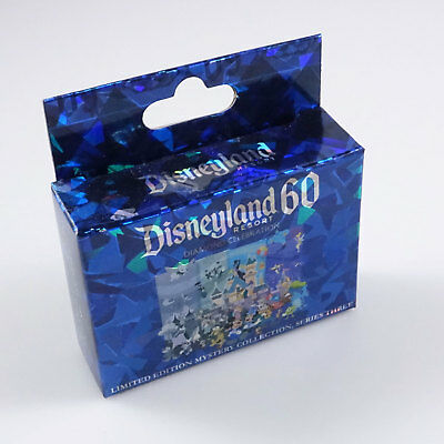 Disneyland trading pins 60th Mystery Puzzle Series 3 Set Box NEW SEALED