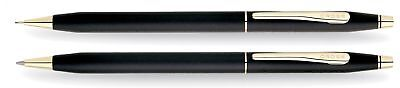 Black Ballpoint Pen and 0.7mm Pencil Set Classic Century with Slim Twist Action