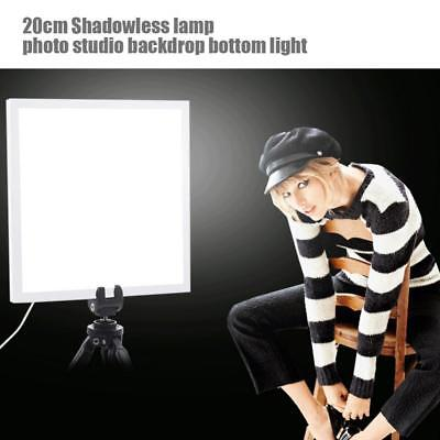 PULUZ Shadowless Light Lamp Panel Pad 800LM LED Photography for 20cm Studio Box