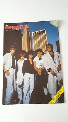 Duran Duran & Culture Club UK Poster Magazine - Visual Superstars No22