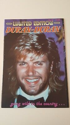 Duran Duran UK Magazine - Limited Edition No18  *RARE*