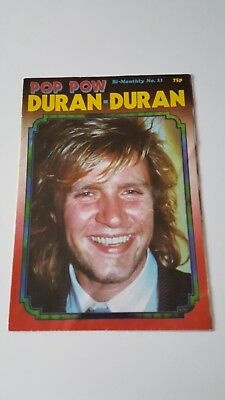 Duran Duran UK Poster Magazine - Pop Pow No21  *RARE*