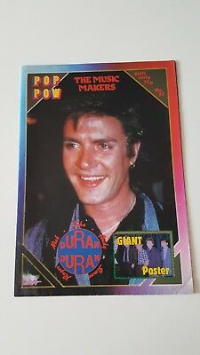 Duran Duran UK Poster Magazine - Pop Pow No17  *RARE*
