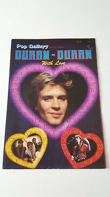Duran Duran UK Poster Magazine - Pop Gallery No5, Sp Edn with love + ticket stub