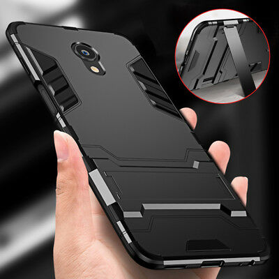 For Meizu S6/M6s M6T 15 Plus M5 M6 Note Shockproof Hybrid Armor Stand Case Cover