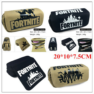 Fortnite Pen Pencil Case Battle Royale Game School Pen Bags Kids Stationary 2018
