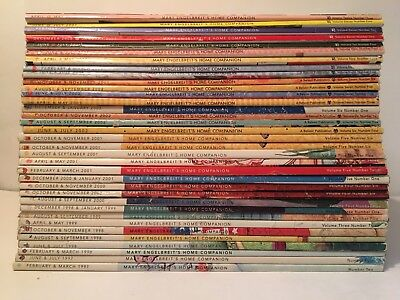 Home Companion Magazines 97-08 By Mary Engelbreit Lot Of 35 Auction Finds 702