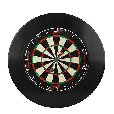 "Dartboard Surround Official 18"" Competition Size - 1 Piece - Black"