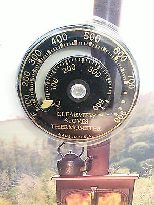 Clearview Stoves Surface Thermometer - Genuine Clearview Product