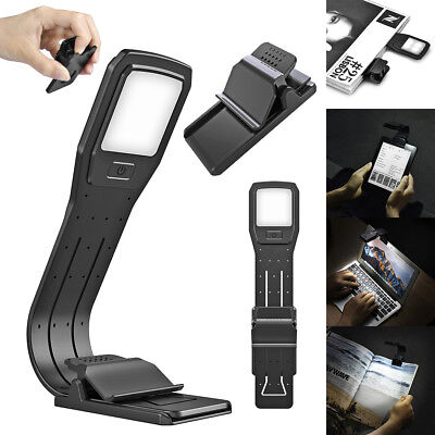LED Reading Book Light Flexible Clip Recharge Lamp For Kindle eBook Readers UK