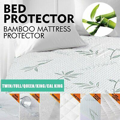 Luxury Mattress Protector Waterproof Fully Fitted Sheet Cover All Size Available