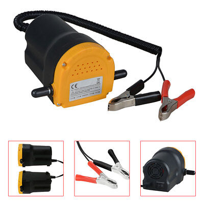Car / Motorbike Oil Diesel Transfer Portable Pump 12V 60W Extractor Fluid Uk