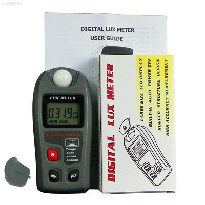 Digital Light Meter LCD Luxmeter Lux/FC Photometer Tester 200000Lux ±4% Camera