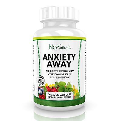 Anxiety Away Anti Anxiety & Stress Relief Supplement - Natural Herbal Blend with