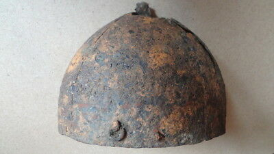 "Helmet of ancient Rus-12 century - ""Polovtsy"". Original condition. Without resto"