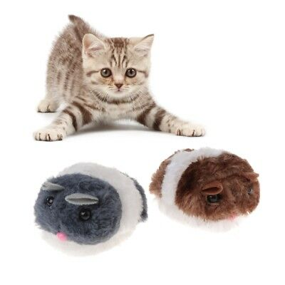 Hot Cat Toys Shake Mouse Interactive Plush Kitten Funny Pet Teaser Pulling Tail