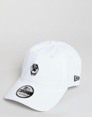 New Era Hat x Looney Tunes Taz 9Forty Adjustable Baseball Cap In White 98a071cf1d2c