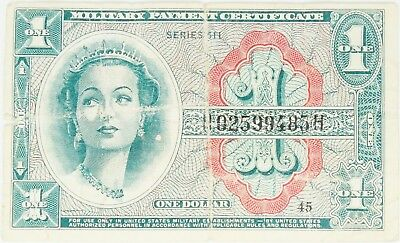 Series 611 $1 One Dollar Military Payment Certificate MPC You Grade It O670