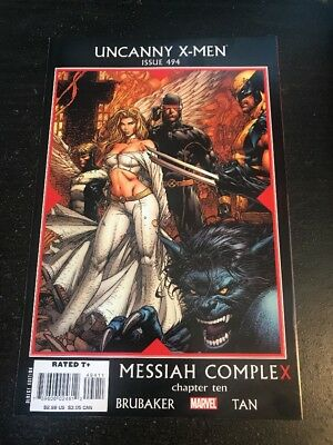 "Uncanny X-men#494 Incredible Condition 9.4(2008) Billy Tan Art""Messiah Complex"""