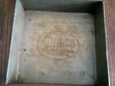 Antique Vintage CRISCO Baking Pan 8 x 8 EKCO 630