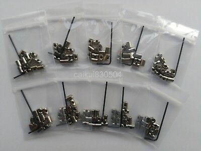 120PCS 7MM LENGTH locking pin keepers backs savers holder with Allen Wrench  best