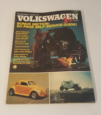 Petersen's Complete Volkswagen 3Rd Edition Book Self Service Guide 1973