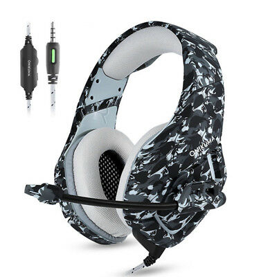 PC Stereo Gaming Headset with Microphone for PS4 Gamepad New Xbox One Cell Phone